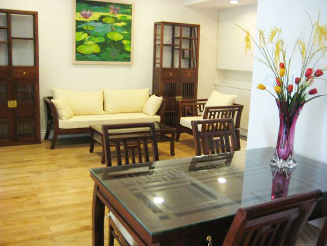 01 bedroom apartment for rent in Hoang Thanh 114 Mai Hac De