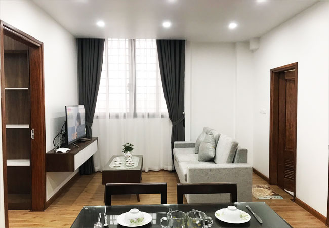 02 bedroom apartment for rent in Phan Ke Binh street, nice furnished