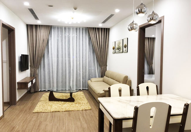 02 bedroom apartment for rent in Vinhomes Skylake Pham Hung