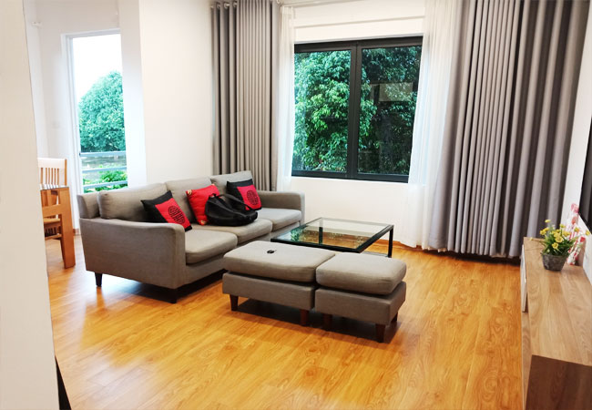 02 bedrooms apartment for rent in Tu Hoa street, tay Ho district