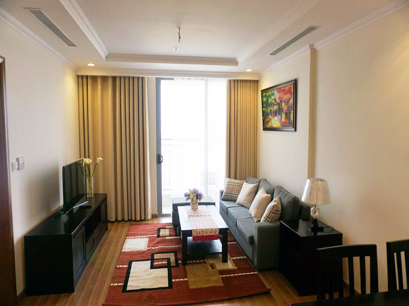 2 bedroom apartment in Vinhomes 54 Nguyen Chi Thanh for rent