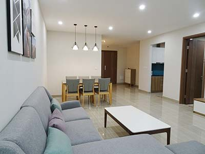 114m2 apartment in the link3 ciputra Hanoi for rent