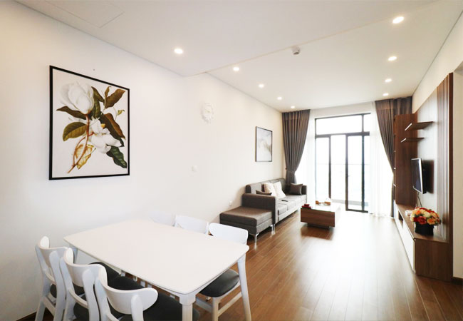 2 bedroom apartment for rent in Sun Grand Ancora, Hanoi