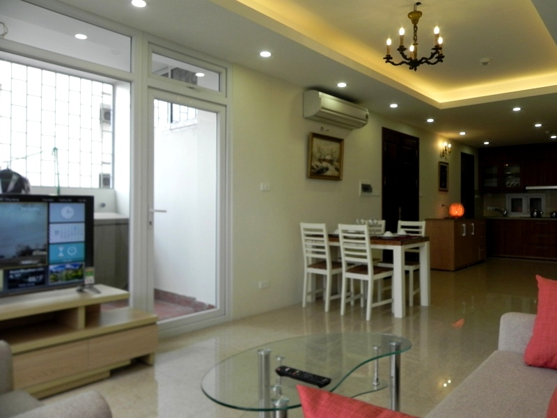 2 bedroom apartment in Giang Vo for rent