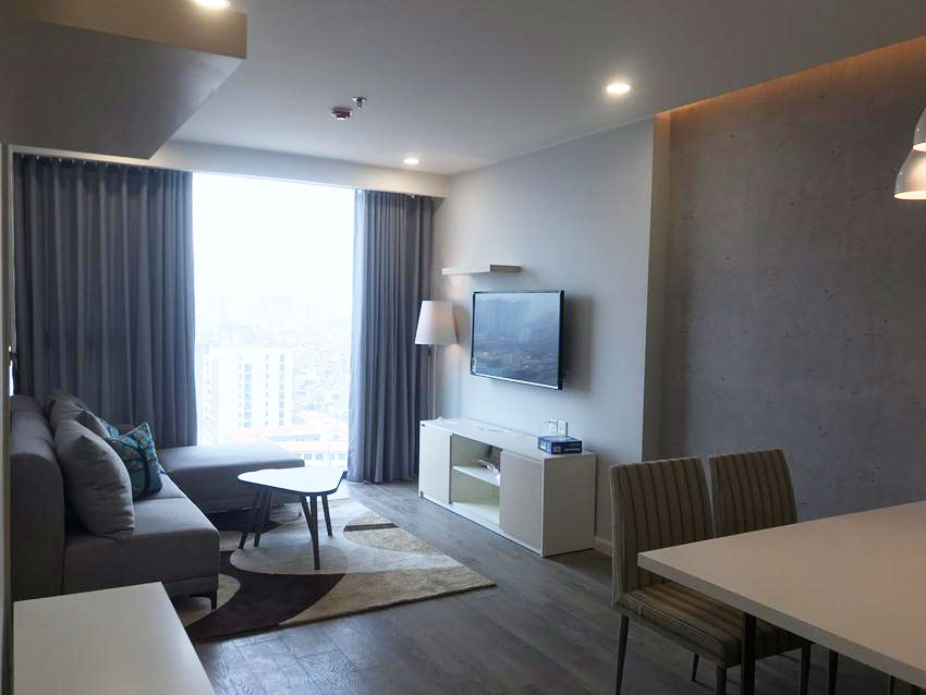 2 bedroom apartment with full of furniture in Artemis Le Trong Tan