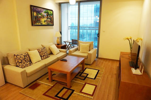 2 bedroom fully furnished apartment in high floor of Vinhomes
