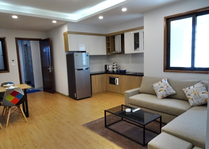 2 bedroom fully furnished apartment in Yen Phu for rent