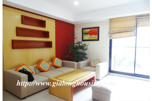 Nice furnished apartment for rent in Pacific Hanoi 1