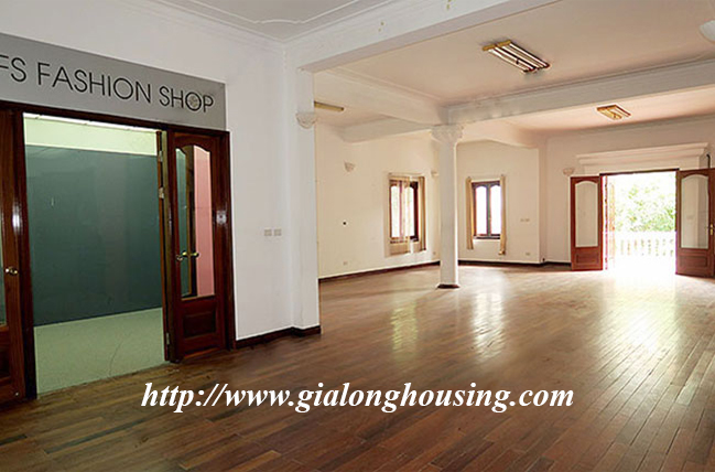 Very big unfurnished villa for rent in To Ngoc Van main road 12
