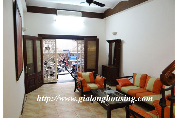 Bright house for rent in Hoan Kiem district 1
