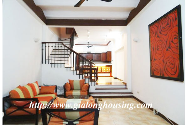Bright house for rent in Hoan Kiem district 2