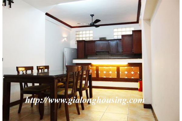 Bright house for rent in Hoan Kiem district 3