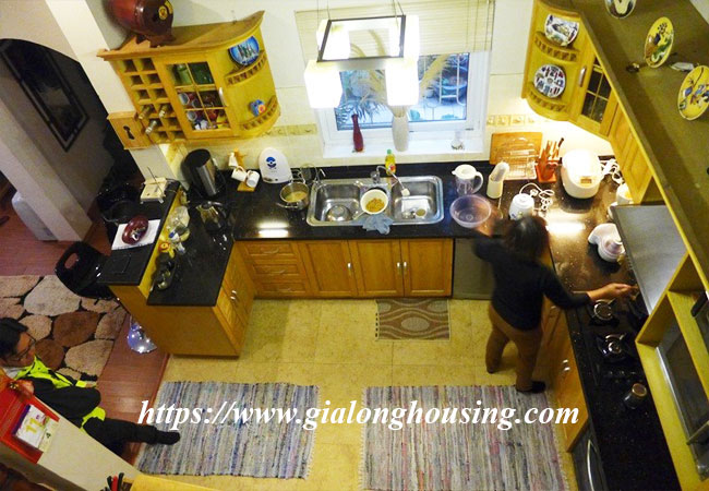 Fully furnished house for rent in Van Ho, Hai Ba Trung district 17