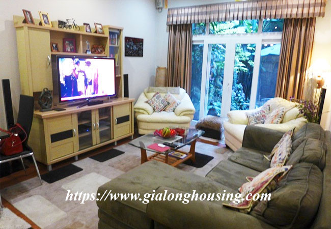Fully furnished house for rent in Van Ho, Hai Ba Trung district 2