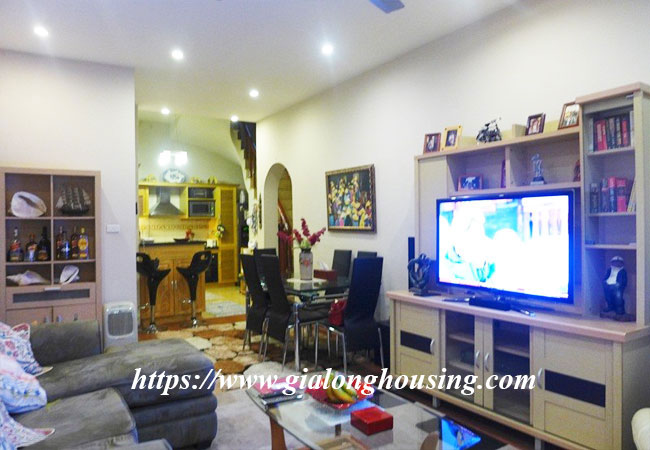 Fully furnished house for rent in Van Ho, Hai Ba Trung district 3