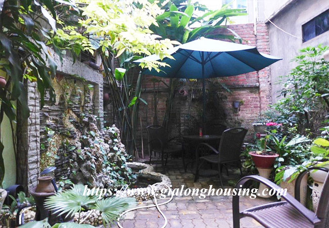 Fully furnished house for rent in Van Ho, Hai Ba Trung district 4