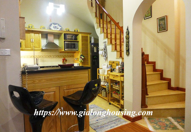 Fully furnished house for rent in Van Ho, Hai Ba Trung district 5