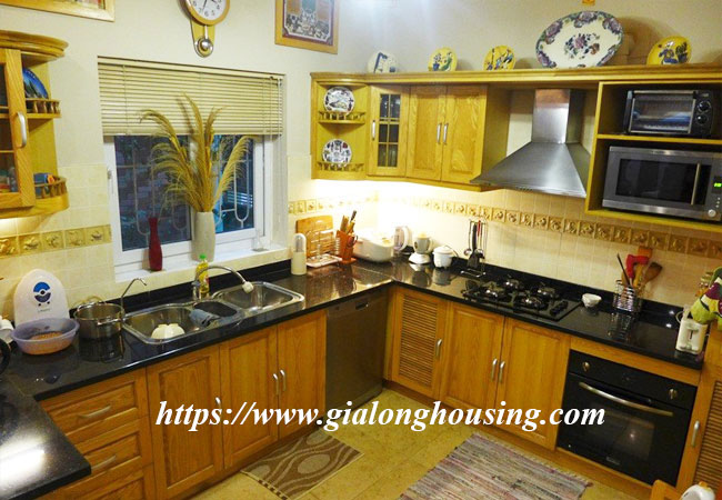 Fully furnished house for rent in Van Ho, Hai Ba Trung district 6