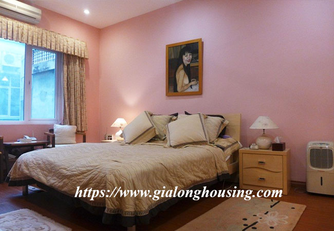 Fully furnished house for rent in Van Ho, Hai Ba Trung district 9