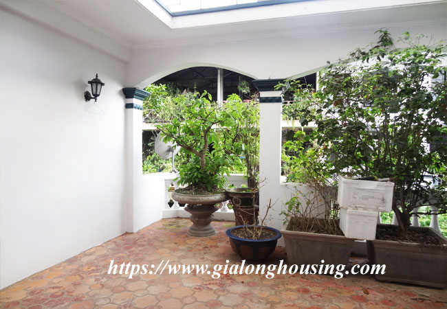 Good house for rent in Phan Dinh Phung, Hoan Kiem 10