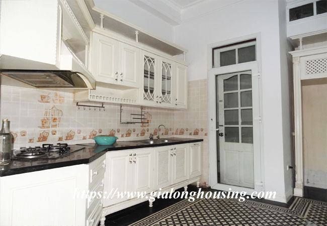 Good house for rent in Phan Dinh Phung, Hoan Kiem 3
