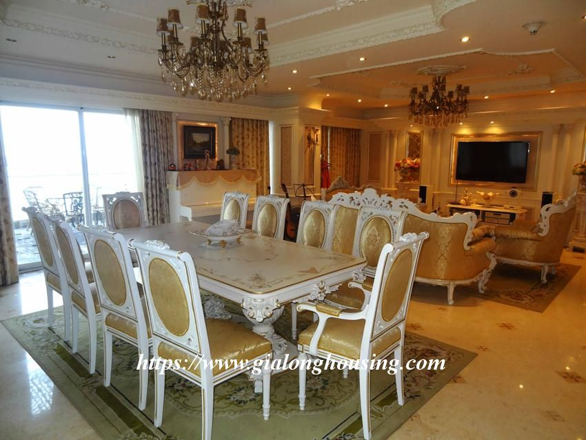 Duplex apartment with neoclassical architecture style in Golden Westlake 1