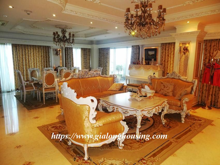 Duplex apartment with neoclassical architecture style in Golden Westlake 2