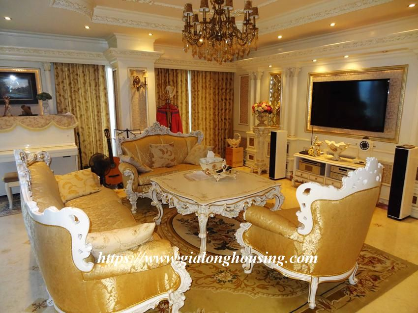 Duplex apartment with neoclassical architecture style in Golden Westlake 3