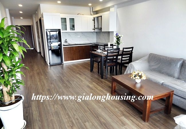 Lake view apartment for rent in 31 Xuan Dieu 2