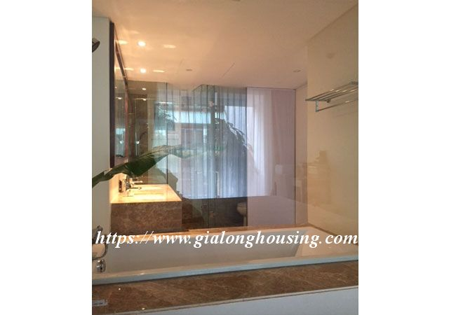 Lake view apartment in Quang An for rent 13