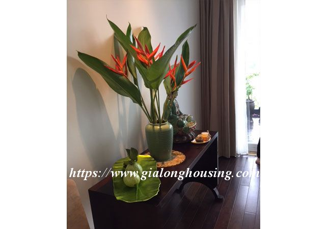 Lake view apartment in Quang An for rent 6