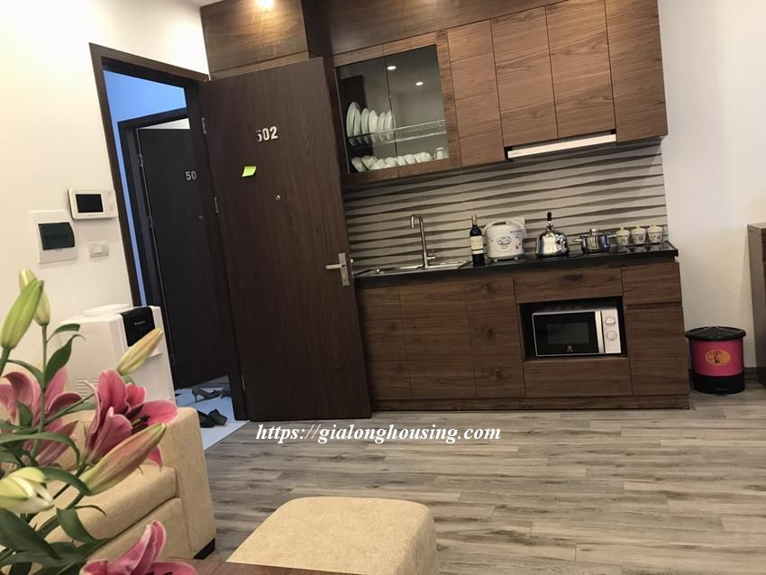 Brand new serviced apartment in Tran Quoc Hoan, Cau Giay for rent 1