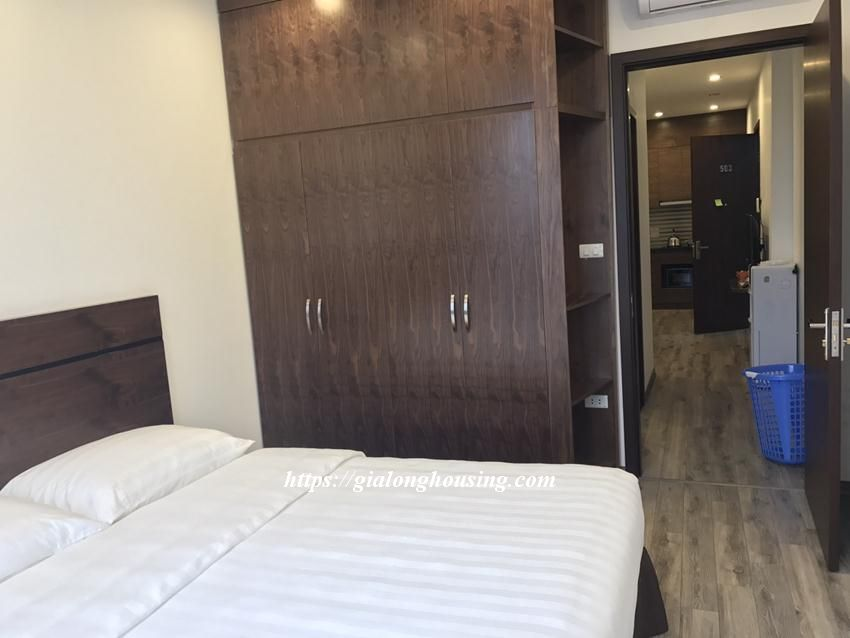 Brand new serviced apartment in Tran Quoc Hoan, Cau Giay for rent 8