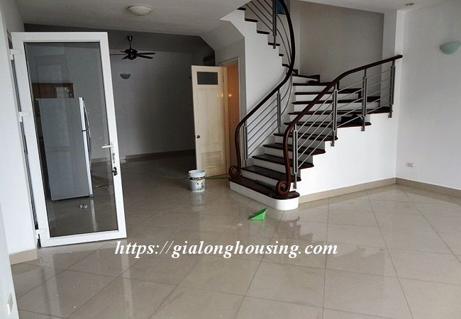 Lake front unfurnished house with car garage, Dang Thai Mai 9