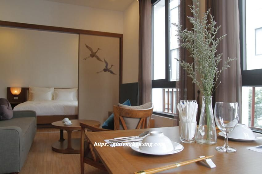Brand new Japanese style apartment in Dao Tan for rent