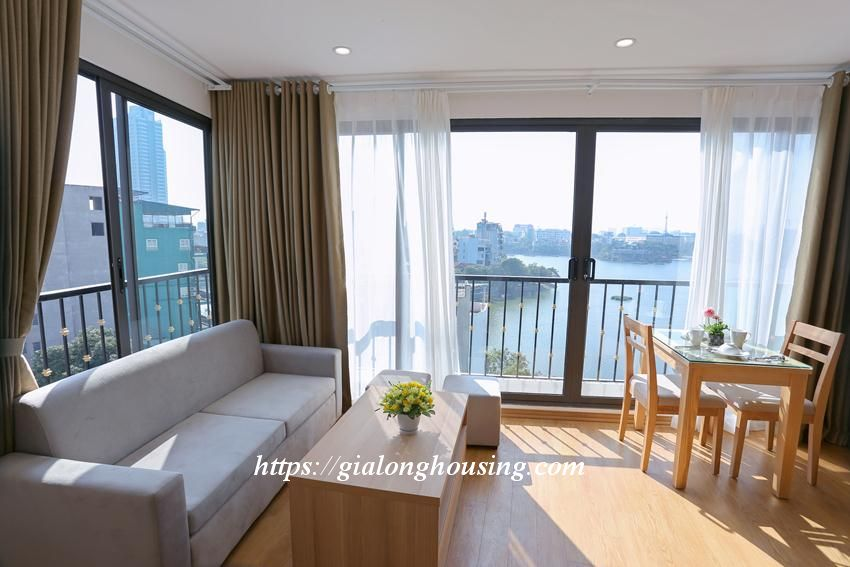 Bright and modern brand new apartment in Truc Bach 2