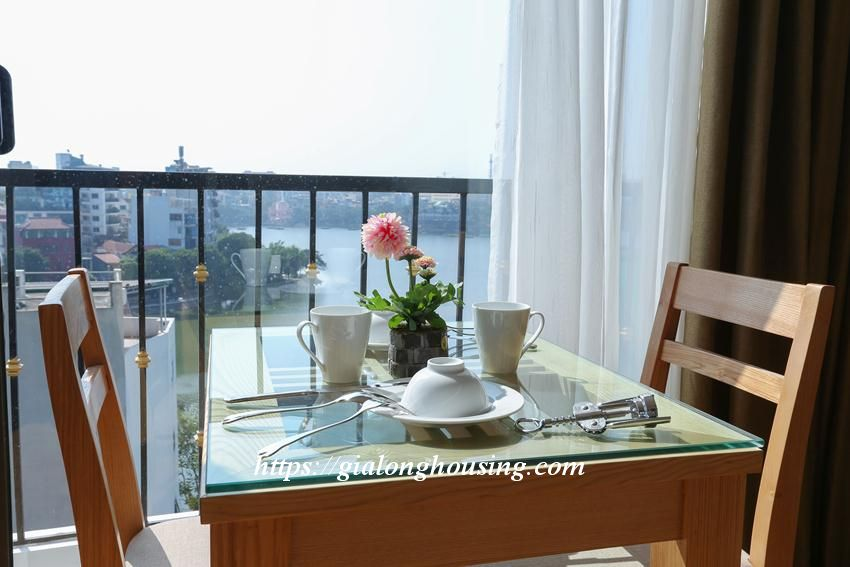 Bright and modern brand new apartment in Truc Bach 7