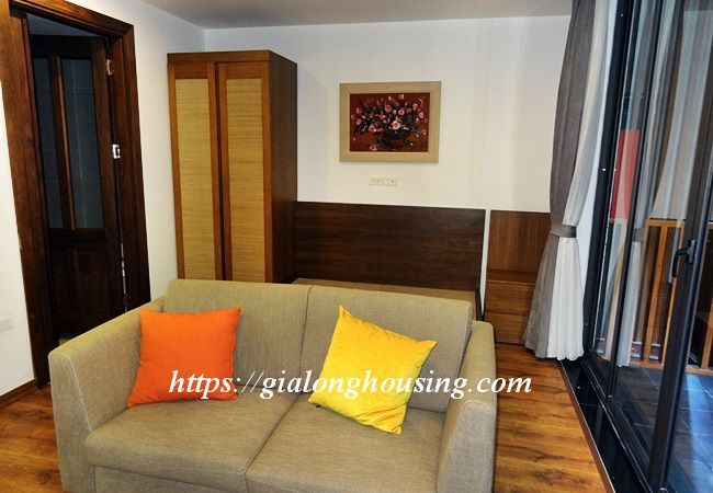 Studio apartment with bathtub in Tay Ho street 3