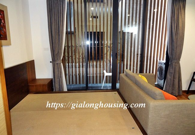Studio apartment with bathtub in Tay Ho street 4