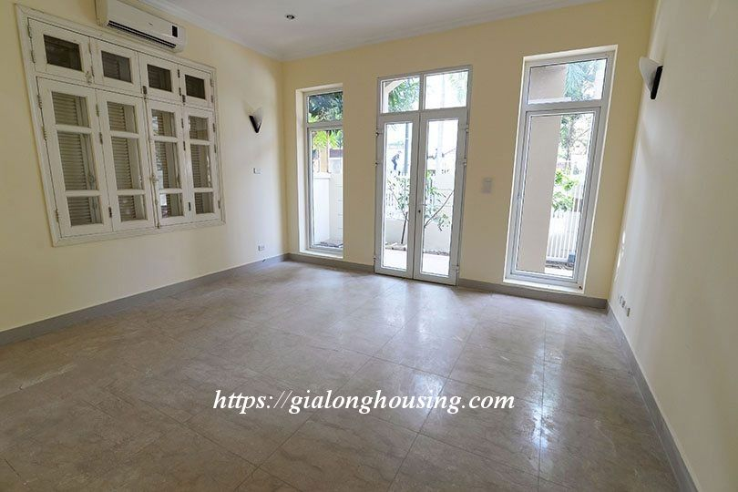 Unfurnished villa in T block Ciputra 3