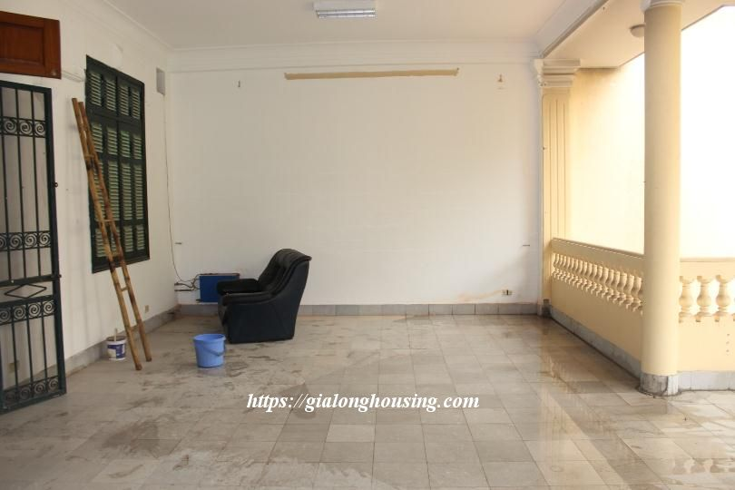 Unfurnished house in Ton Duc Thang, suitable for house/office/kindergarten 14