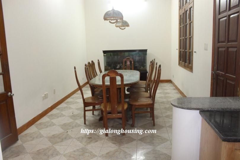 Unfurnished house in Ton Duc Thang, suitable for house/office/kindergarten 5