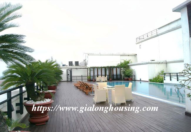 Nice furnished apartment for rent in Pacific Hanoi 4