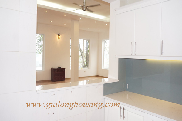 Swimming pool villa for rent in To Ngoc Van street,Tay Ho district 9