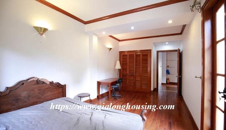 Gorgeous villa in Ton Duc Thang, Ba Dinh for rent 19
