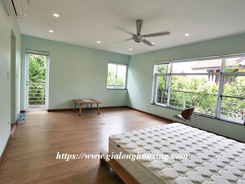 Charming house in Tay Ho for rent with modern furniture 1