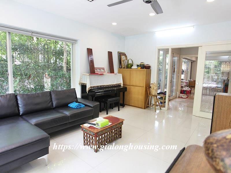 Charming house in Tay Ho for rent with modern furniture 10
