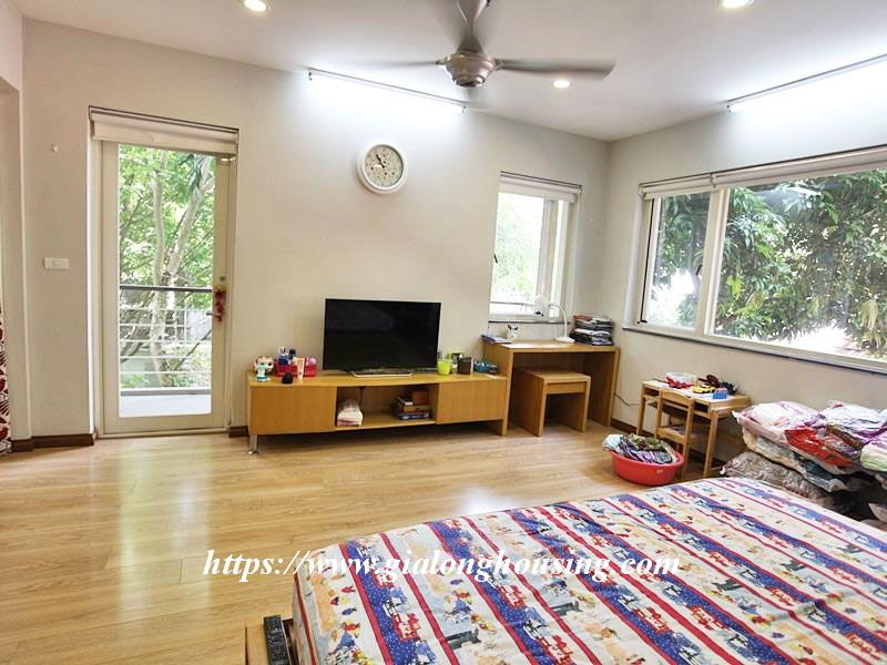Charming house in Tay Ho for rent with modern furniture 15