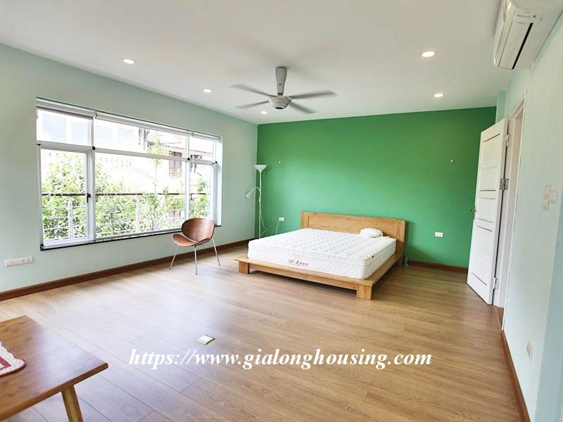 Charming house in Tay Ho for rent with modern furniture 20