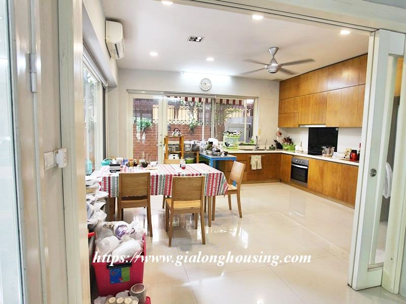 Charming house in Tay Ho for rent with modern furniture 3